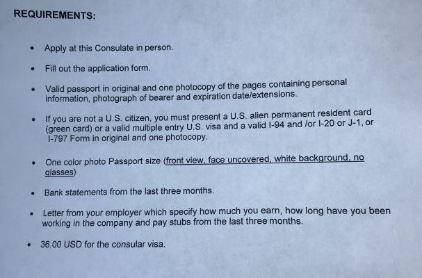 Visa Mexico USA | Mexico Visa requirements | Visa Appointment